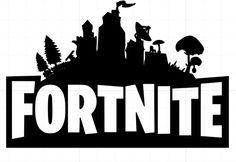 Fortnite Logo Vinyl Decal #fortnite #fortnitebattleroyale #live