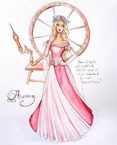 Princess Aurora the Sleeping Beauty