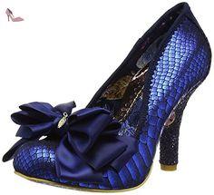 Irregular Choice Ascot Blue Glitter Womens Heels Court Shoes-36 - Chaussures irregular choice (*Partner-Link)