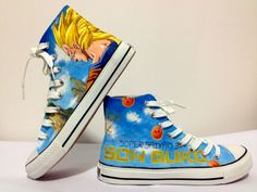 886bd3c42ba DragonBall Z custom made shoes by Seephice on DeviantArt ...