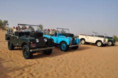 Platinum Heritage Safari em Dubai - Land Rover 1950