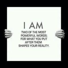 POWerful words to believe & embrace...