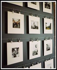 Hacer composiciones con fotos para adornar las paredes de nuestro hogar es una gran idea. En este blog nos recomiendan tres bonitas idea, ¿cuál te gusta más?