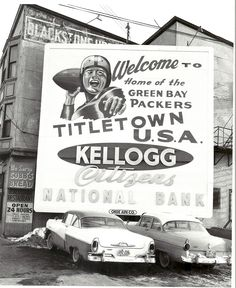 Titletown, U.S.A......  Always has been....always will be.... Titletown USA