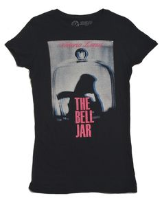 Out of Print Clothing - The Bell Jar t-shirt in black (size L), $28