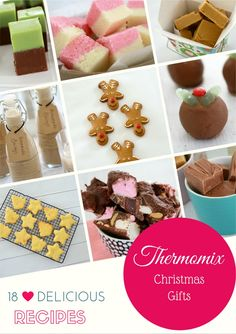 Christmas is sorted!!! We've put together a collection of our very favourite food gifts you can make in your Thermomix... and we think you're going to LOVE it!!
