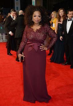 Oprah Winfrey - EE British Academy Film Awards in London 16 February 2014
