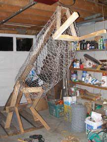Horse frame- Wire Body1 for headless horseman