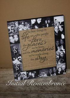 Anniversary Gift Ideas For Him Discover Best Friend Frame best friend gift. Picture Frame Collage Photo Frame bachelorette party Maid of Honor Bridesmaid MOTHERS DAY Gift Mom Collage Foto, Collage Picture Frames, Collage Ideas, Photo Collage Gift, Photo Collages, Heart Collage Of Pictures, Birthday Photo Collage, Family Picture Collages, Picture Walls
