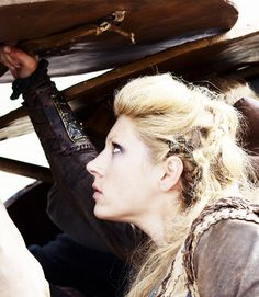 Katheryn Winnick as Lagertha in Vikings
