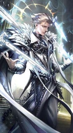 Kai Fine Art is an art website, shows painting and illustration works all over the world. Fantasy Character Design, Character Design Inspiration, Character Concept, Character Art, Concept Art, Fantasy Art Men, Fantasy Armor, Anime Fantasy, Fantasy Characters