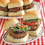 Burger Sliders Recipe   MyRecipes.com