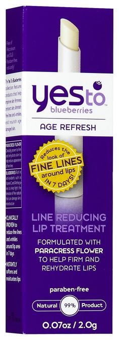 Yes To Blueberries Line Reducing Lip Treatment - Best Price