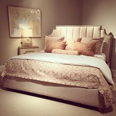 Furniture in Knoxville - Upholstered Headboards - Braden's Lifestyles Furniture - Home Décor - Home Interiors - Interior Design - The Design Center at Braden's - Rowe Furniture