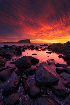 Stack Island Sunrise, Minnamurra - Australia