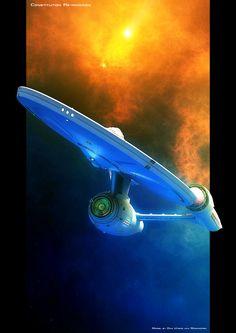 Science Fiction — alphamecha: Constitution Re-imagined by GrahamTG Star Trek Voyager, Star Trek Tos, Star Trek Enterprise Ship, Jurassic World, Wallpaper Star Trek, Nave Enterprise, Science Fiction, Star Trek Poster, Starfleet Ships