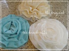 How to do a ruffle flower.