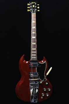 1966 Gibson SG Standard Wine Red > Guitars Electric Solid Body | GUITARE COLLECTION