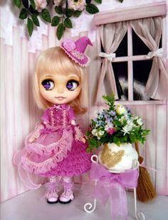 the 5th Blythe Beauty Contest, Manga Girls Inspiration.   Blythe Doll Club