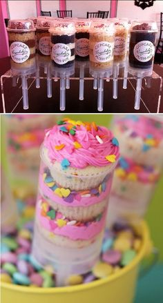 Doces: push-up cake pops