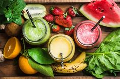 Splendid Smoothie Recipes for a Healthy and Delicious Meal Ideas. Amazing Smoothie Recipes for a Healthy and Delicious Meal Ideas. Fruit Smoothies, High Protein Smoothies, Protein Smoothie Recipes, Smoothie Ingredients, Weight Loss Smoothies, Protein Shakes, Breakfast Smoothies, Protein Fruit, Smoothie Diet