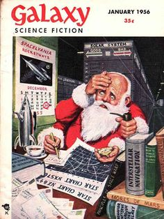 Galaxy Science Fiction Christmas cover