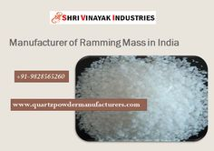 Manufacturer and Supplier of Ramming Mass in India