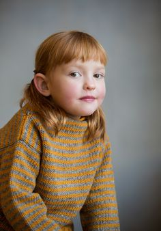 These beautiful Portraits were taken by photographer Hannah Lipowsky for babaà - You can see more of her brilliant work here It was Hanna´s idea to use portraits to show our knits and we love them, we hope you too! ____________________ Jumper No.14...