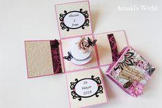 Caja dinero boda para Alicia y Jose - Anuski´s World