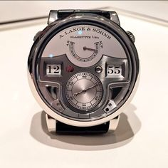 A.Lange Holygrail Zeitwerk Minute Repeater watch.
