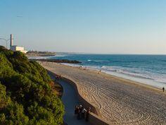 Tamarack Beach in Carlsbad, California.  This was part of my running route <3