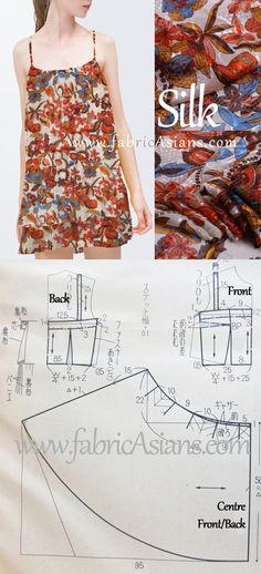 How to sew sundress? Sundress sewing pattern easy.