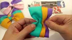 Image gallery – Page 557883472591025090 – Artofit Ribbon Hair Bows, Diy Hair Bows, Diy Bow, Hair Bow Tutorial, Blog Couture, Hair Decorations, Boutique Hair Bows, Making Hair Bows, Girls Hair Accessories