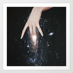 Art Print featuring Andromeda by Jahjoma