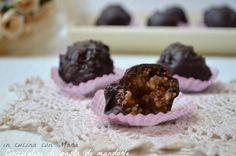 Cioccolatini di pasta di mandorle