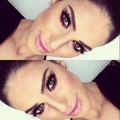 Pestañas abiertos efecto de ojos grandes