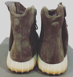 22a374328 Adidas by Kanye West Yeezy Boost 750 Chocolate Brown Colorway Follow us on  Twitter  https