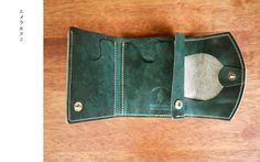 「エメラルド2」 小さいふ 極小財布 ペケーニョ Wallet, Purses, Diy Wallet, Purse
