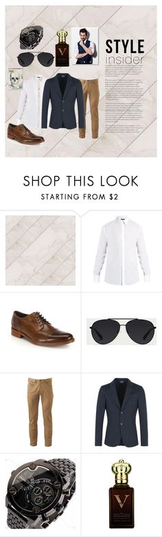 """""""Man"""" by buonmathuat ❤ liked on Polyvore featuring Dolce&Gabbana, Cole Haan, Bally, Dockers, Armani Jeans, Clive Christian, Alexander McQueen, men's fashion and menswear"""
