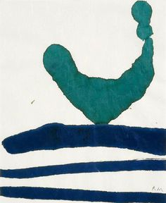 Motherwell took flight when he worked with paper, creating drawings and collages.