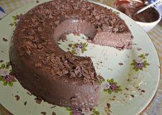 Sobremesa de chocolate low carb