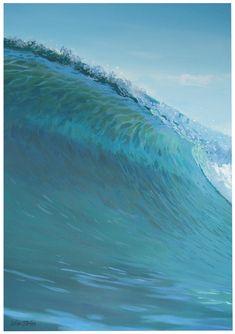 Galleries : Waves - Leisa O'Brien Artist