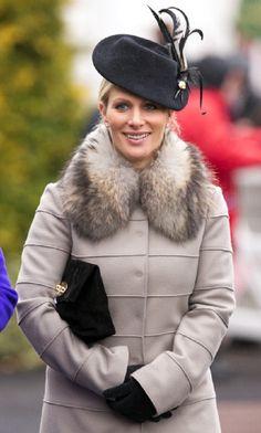 Zara Phillips attends Day 4 of The Cheltenham Festival Racecourse on 15 March 2013