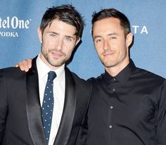 Matt Dallas married singer-songwriter Blue Hamilton after eight years of dating; see a wedding photo