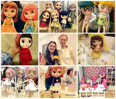 I had a wonderful day at Evento Blythe Madrid on Saturday, May 28! I went there with Olga and my kids and we stayed till the end! I was very happy to see Lu again and to meet finally Monica I have been knowing online forever. I love Feltland knits! And it was a pleasure to discuss with Olivia I missed when I went to the Canarian Islands. The event was very well organized in a very nice venue with beautiful Blythe dolls all around. Thanks to the staff team for their great job!