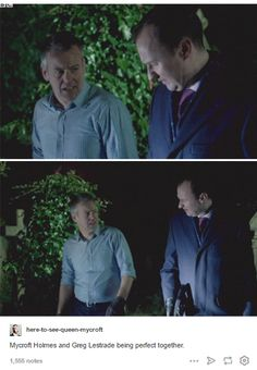 Any Mystrade shippers here?<<Hell yeah I ship Mystrade. Look at that preciousness.