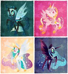 Royals by *DisfiguredStick on deviantART     #mylittlepony #mlp #pony…