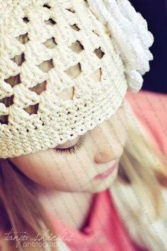 Beanie Hat Crocheted The Bella