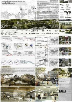 (architecture projects) [group] most interesting photos on FlickeFlu Concept Board Architecture, Architecture Presentation Board, Architecture Panel, Landscape Architecture Design, Architecture Graphics, Architectural Presentation, Architecture Diagrams, Architectural Models, Architectural Drawings