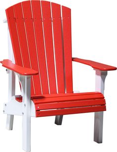 recycled plastic adirondack chairs. LuxCraft Royal Recycled Plastic Adirondack Chair Chairs